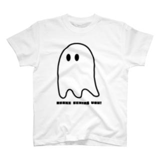 OBAKE BEHIND YOU T-shirts