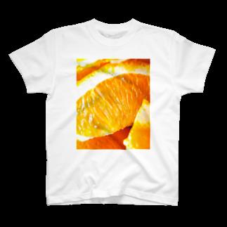 ししとう屋さんのオランゲ T-shirts