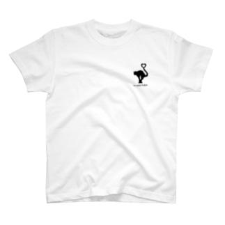『吾輩は猫である』って言ってる猫ちゃん T-shirts