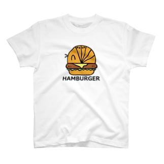だんごむしバーガー T-shirts