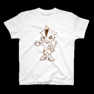 4voxの虎キャラT T-shirts