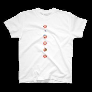 平澤ネムのピクニック(カラフル半そで) T-shirts