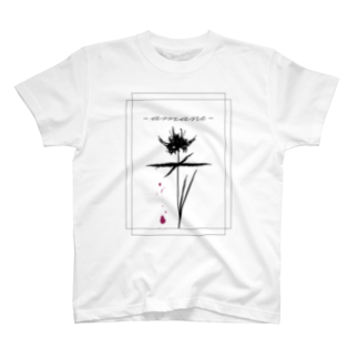SIZUKI.の雨音-amane- white 【T-shirt】 T-shirts