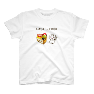 スパイシー千鶴のパンダinぱんだ(フルーツタルトカット) T-shirts