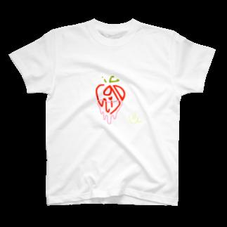 poponnuのichigo T-shirts