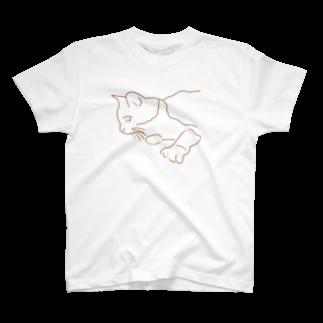 くまさんしょっぷ🐻のねこ (mo) T-shirts