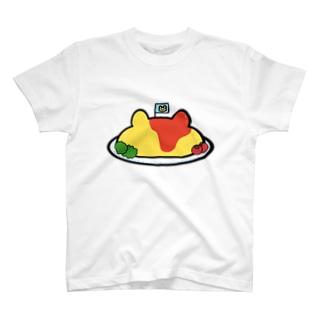 くまさんオムライス T-shirts