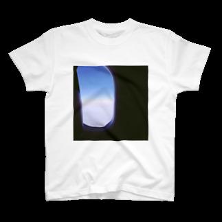 preppの飛行機の窓 T-shirts