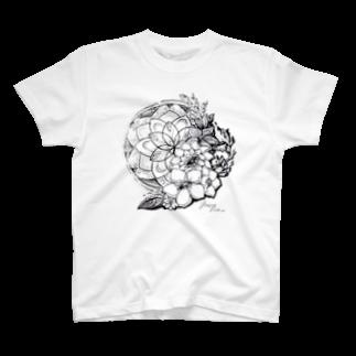 Yuzuriha so_の花新 T-shirts