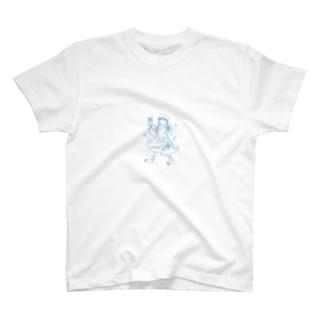三つ編みガール T-shirts