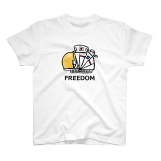 うちゅうひこむし T-shirts