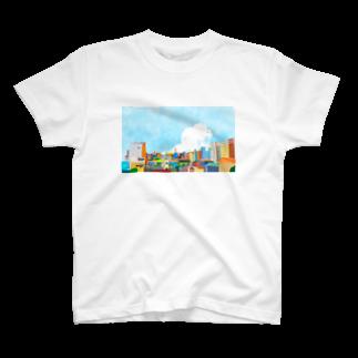 にゃーこのまち T-shirts