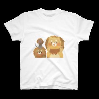 (   ᵔ(ᴥ)ᵔ   )のがおー T-shirts