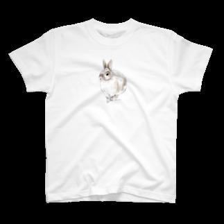 ヒラノマキコの2015.06月うさぎ T-shirts