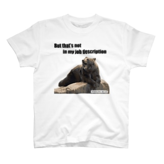 【WORKING BEAR】 Job description bear T-shirts