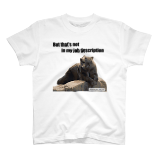 WORKING BEARの【WORKING BEAR】 Job description bear T-shirts