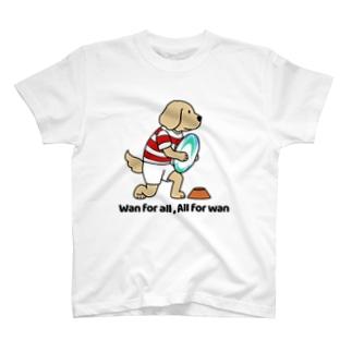 ラグビー(両面) T-shirts