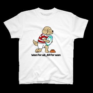 efrinmanのラグビー(両面) T-shirts