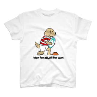 efrinmanのラグビー2(前面) T-shirts