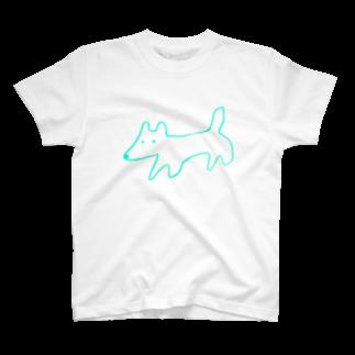 STORE(ストア)のinu-kitsune green T-shirts