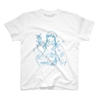 三つ編みガール ver.2 T-shirts