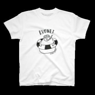 RUMNETのうきわラムネルさん T-shirts
