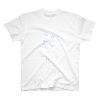 絵心がないネズミシリーズ T-shirts