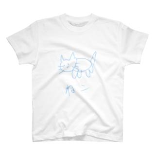 絵心がないぬっこシリーズ T-shirts