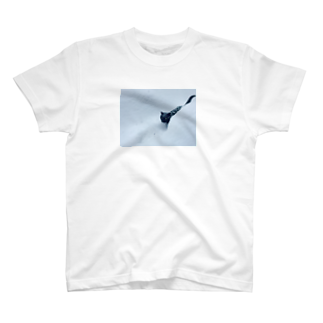 タカ彦の雪猫 T-shirts