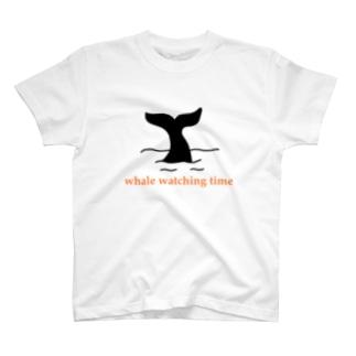 ZAZY-T ホエールウォッチングタイム T-shirts