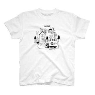 どうぶつーズ引っ越しセンタ T-shirts