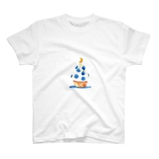 月マカロン T-shirts
