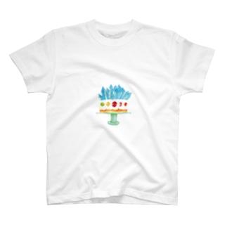 クリスタルケーキ T-shirts