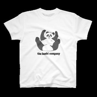えびっこのパンダのぱんた T-shirts