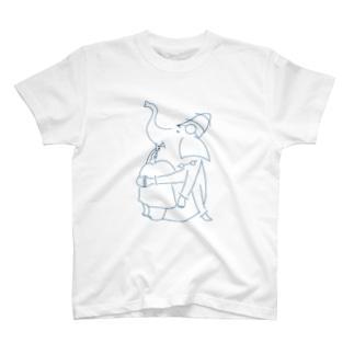 ものおもいガネーシャくん T-shirts