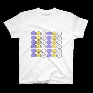 ぽんぬのおまんじゅういっぱい T-shirts