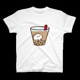 みじめちゃん@LINEスタンプ販売中のみじめちゃん(タピオカ) T-shirts