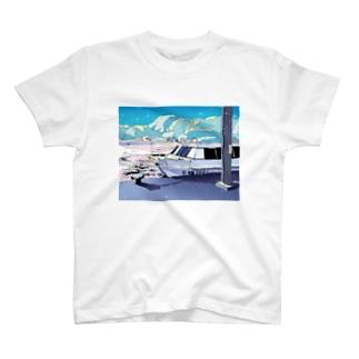 夏行きの船 T-shirts