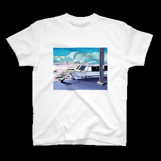 Saigetsuの夏行きの船 T-shirts