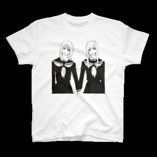 HEART store のセーラ服ズ T-shirts