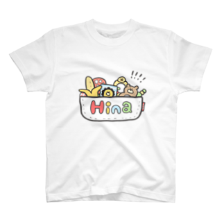 ゆゆ丸のひな◎ T-shirts