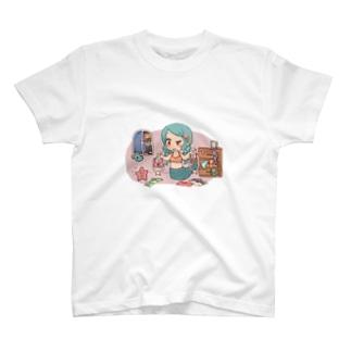人魚姫ちゃん T-shirts