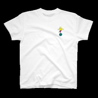 のたのまるに乗る T-shirts
