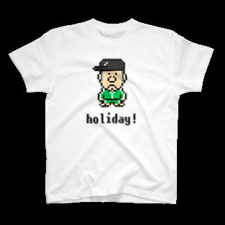 カットボスのカットボス - 休日 T-shirts