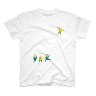 あたまにす付いてるよ(カラー) T-shirts