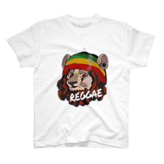 👾Churro👾のreggae lion T-shirts