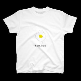 花紅のTAMAGO T-shirts