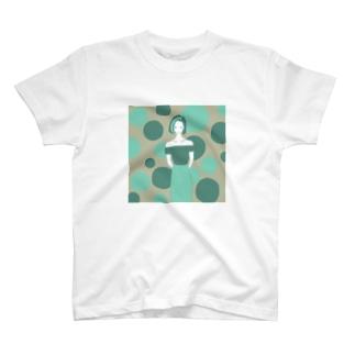 Green Lady T-shirts