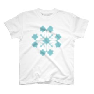 キルトパターン T-shirts