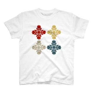 occasiのキルトパターン4 T-shirts